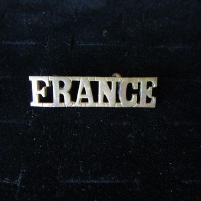 insigne France FFL  bronze  Prix vendu