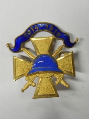 insigne 1914-1919 .  15 euros