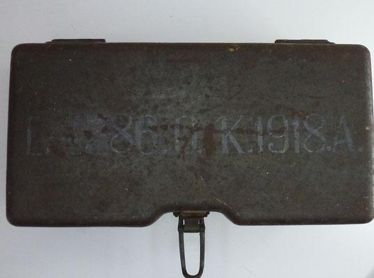 lunette allemande artillerie ww1