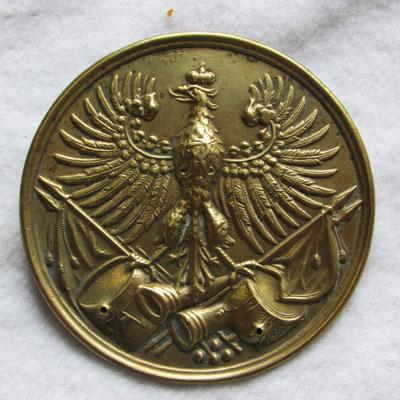 plaque de giberne Prusse époque 1°empire