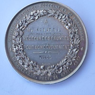 medaille par Barre