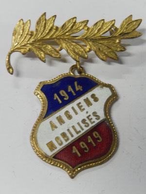 Anciens mobilisés      1914-1919                   Prix : 15 euros