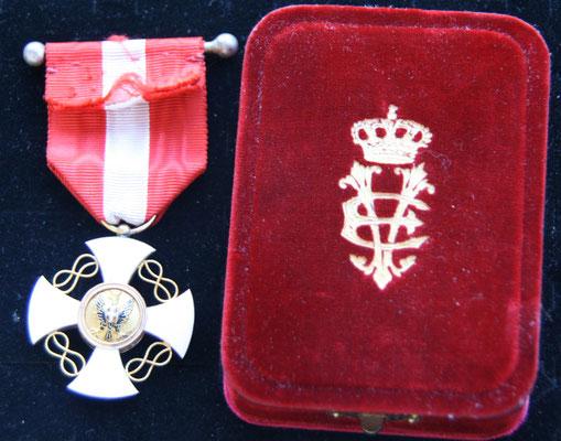 ordre de le couronne d'Italie