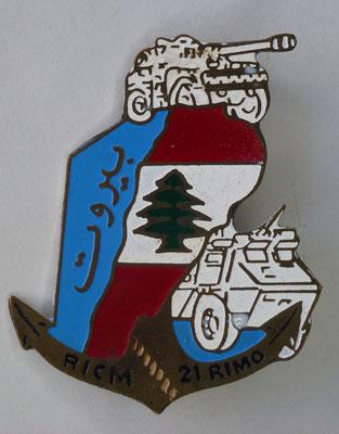 RICM au liban Prix : 35 euros