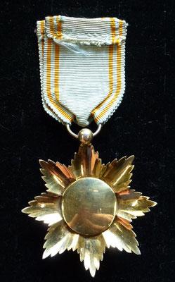 ordre royal de l'étoile d'Anjouan, vermeil, poinçon hure sur la boule , très bel état centre légèrment decentré  Prix : 230 euros