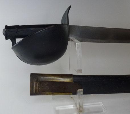 sabre de bord modèle 1833