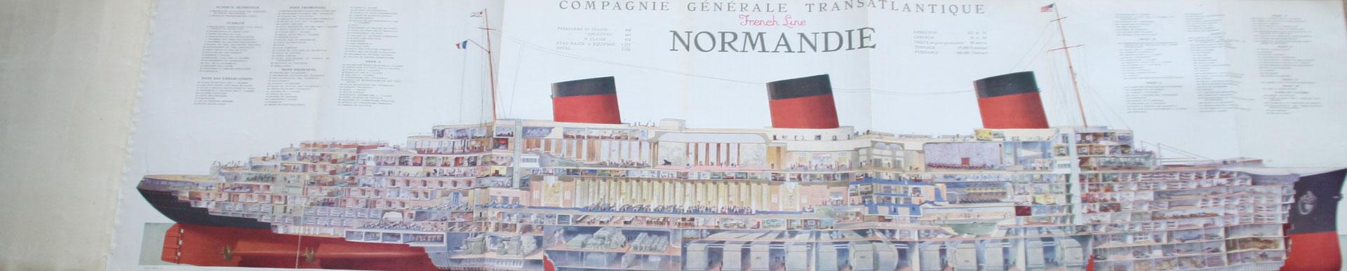 paquebot transatlantique Normandie