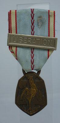 commémoration 1939-45 agafre libération : 20 euros