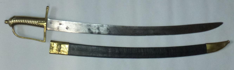 sabre briquet modele 1767 ancien regime