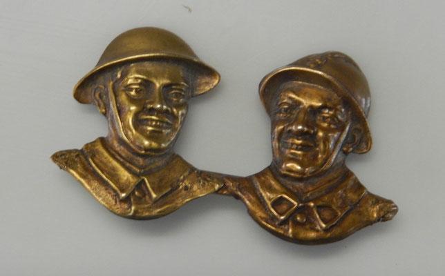 insigne amities franco British 1940. prix : 12 euros