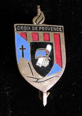 insigne croix de provence .dos lis prix: 120 euros