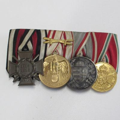 barrette médaille  autrichienne ww1