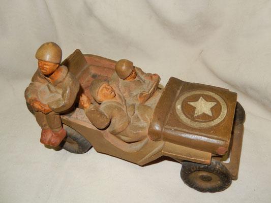 souvenir guerre 1939 1945 jeep WW2