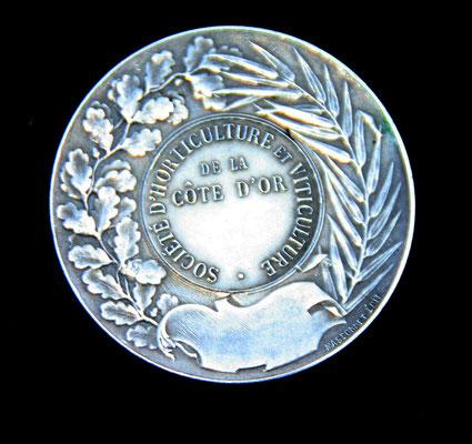 medaille société d d'horticulture et viticulture de la Côte d Or