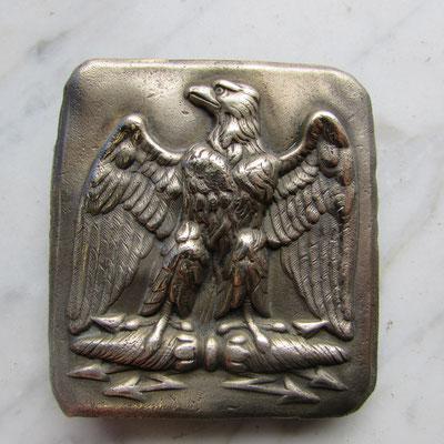 plaque garde nationale second empire réparation d'usage 40 euros ref:cu06