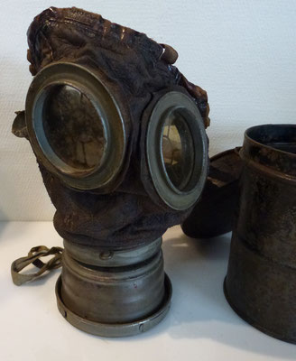 masque a gaz allemand premiere guerre
