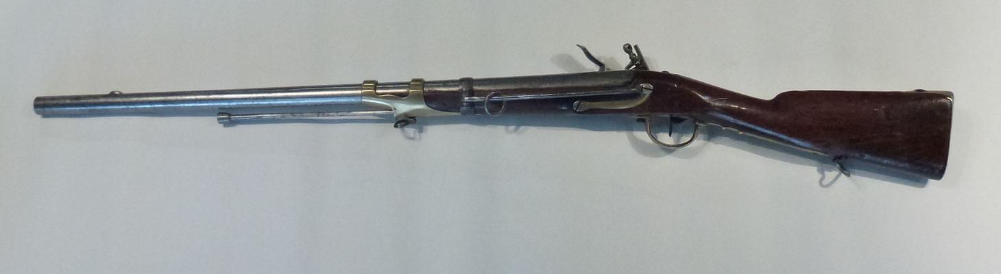 mousqueton de hussard 1786