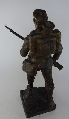 statuette en bronze par Carlier