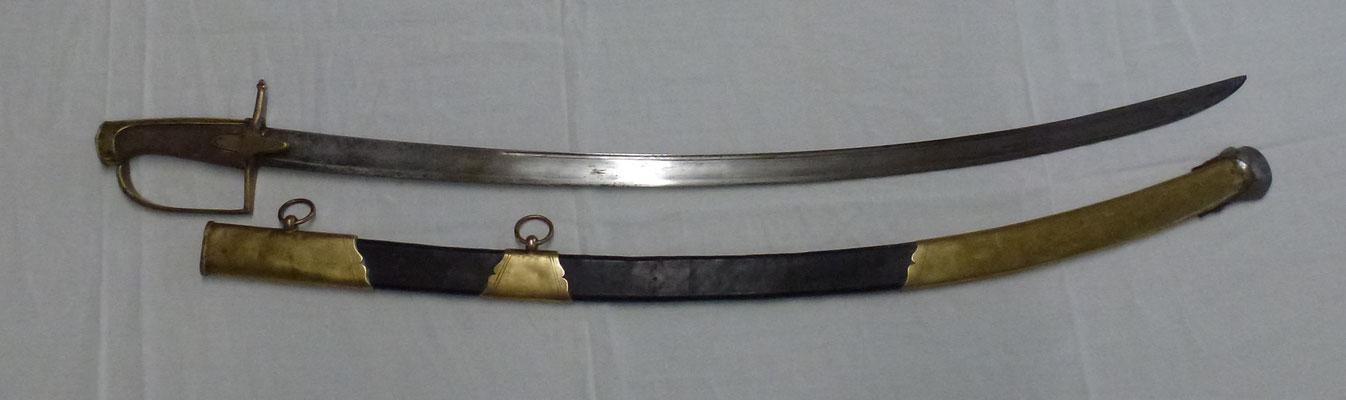 sabre de chasseur modéle  1792