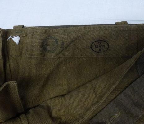 pantalon salopette français 1938