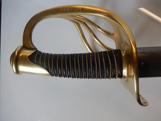 sabre carabinier second empire modèle 1854