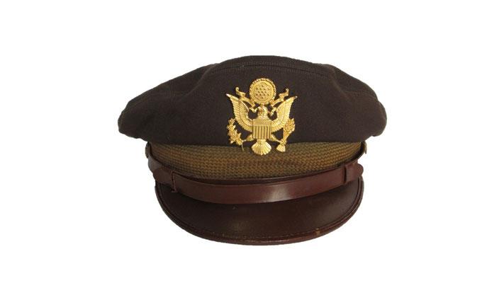 casquette officier US WW2