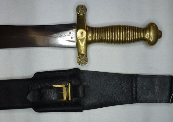 glaive modele 1831 manufacture de klingenthal
