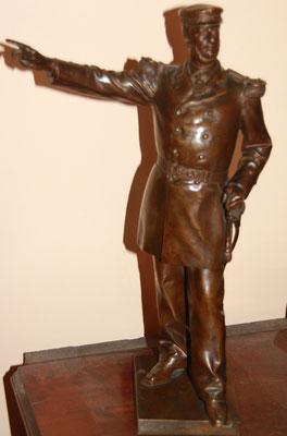 bronze de D Puech  Amiral Orly fondeur Barbedienne Collas