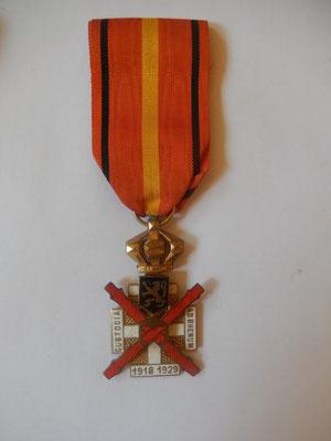 médaille Garde du Rhin (Belgique)      35 euros