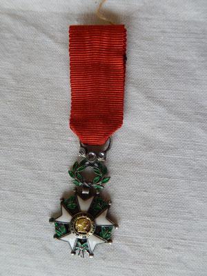 légion d'honneur miniature , bi face  diamant  Prix : 100 euros
