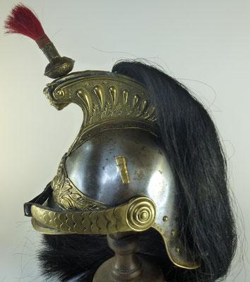 casque de cuirassier modèle 1874
