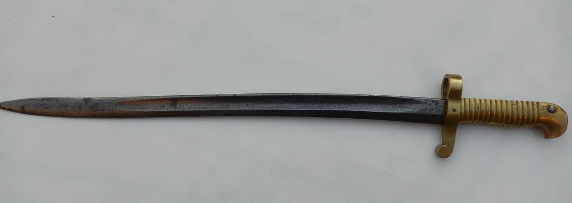 baïonnette collins sharps and hankins navy rifle 1861