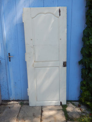 porte chêne louis XV  2 .3 x 80.5 cm