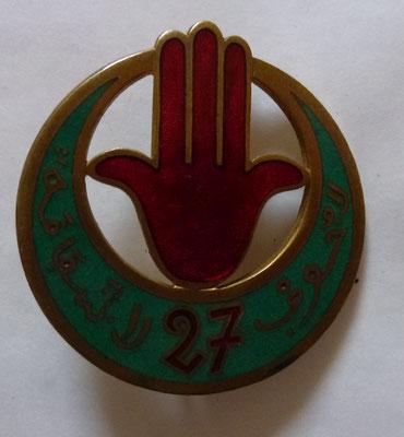 27 tirailleurs algeriens .fabriquant Arthus Bertrant  Paris deposé  46  rue de Rennes .prix 40 euros