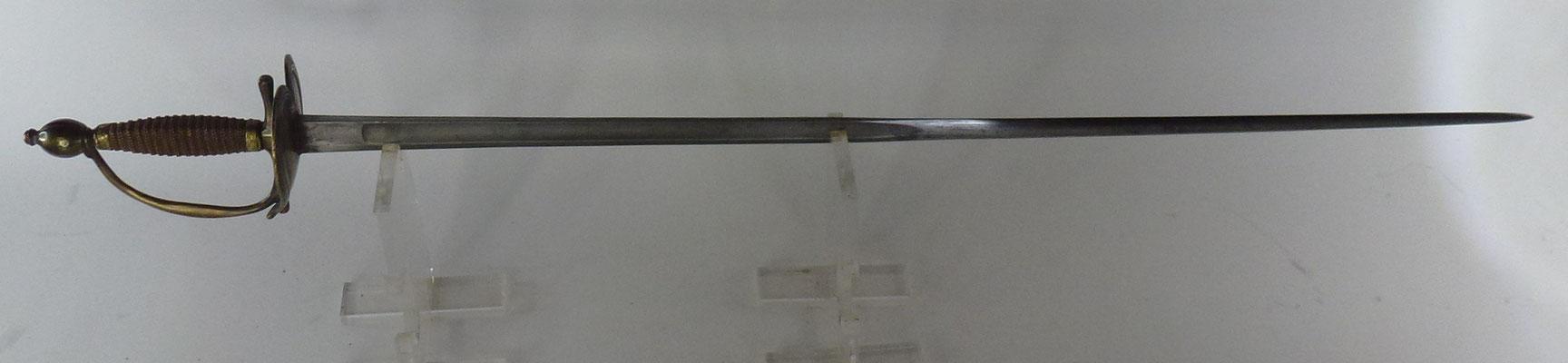 épée d officier garde française