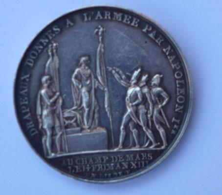medaille par Denon Dir Droz fecit