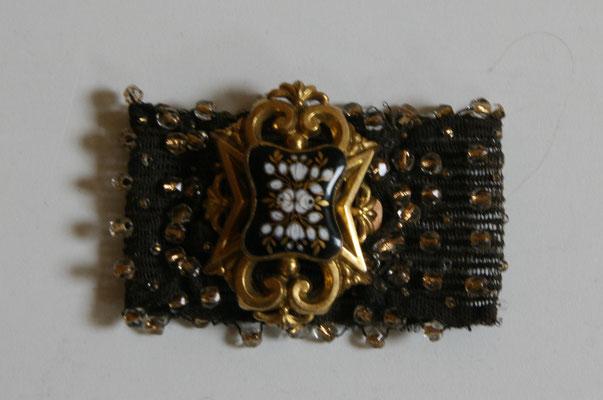 bracelet napoléon III pomponne émaux