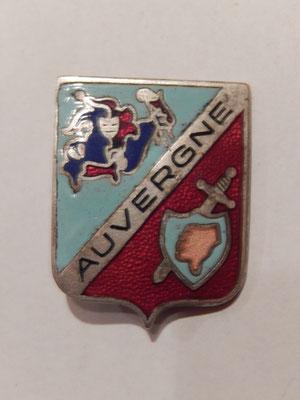 Auvergne  matriculé 370   A.AUGIS  30 euros