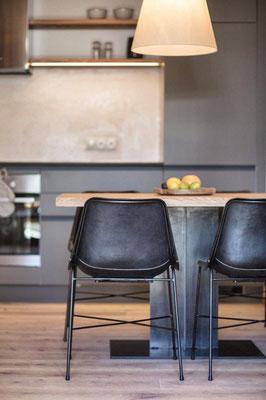 Appartement Pluna - Küche
