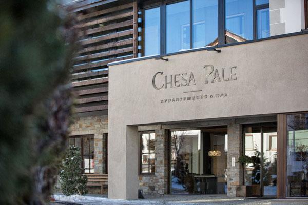 Chesa Pale - Eingang