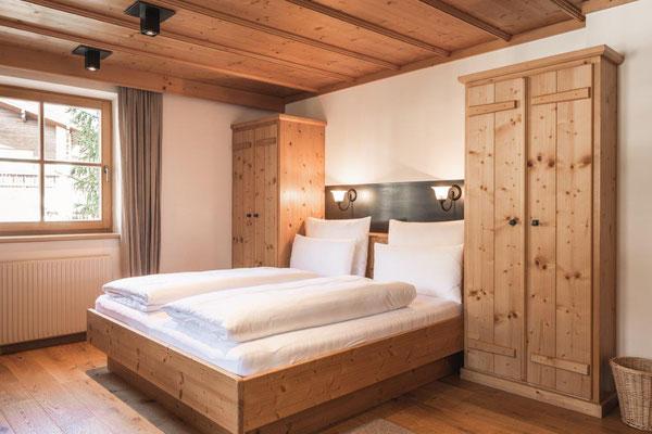 Appartement Glüna - Schlafbereich
