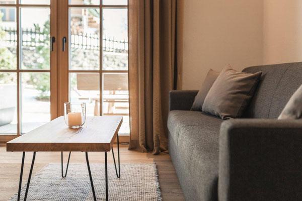 Appartement Pluna - Wohnraum