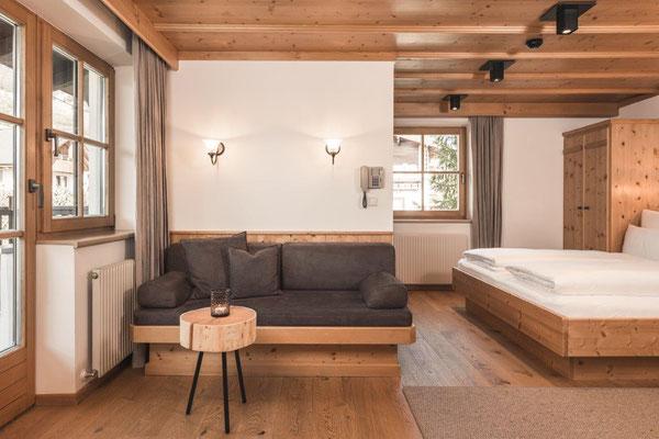 Appartement Glüna - Wohnraum