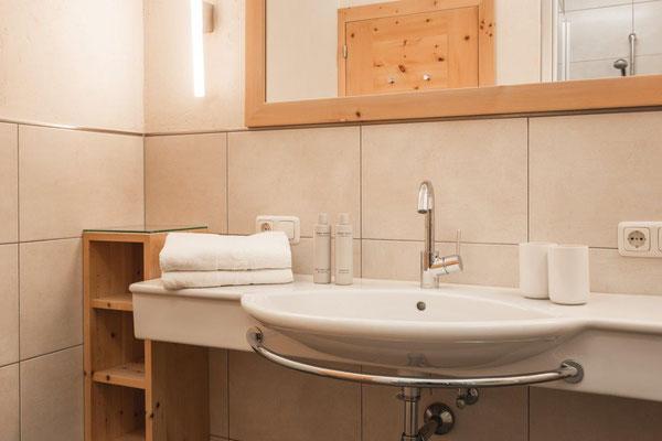 Ferienwohnung Fortüna - Badezimmer