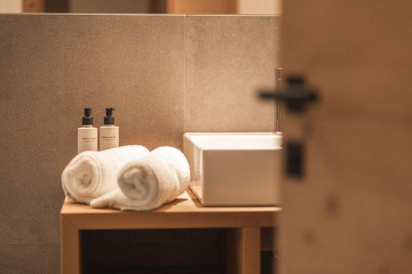Ferienwohnung Curuna - Badezimmer