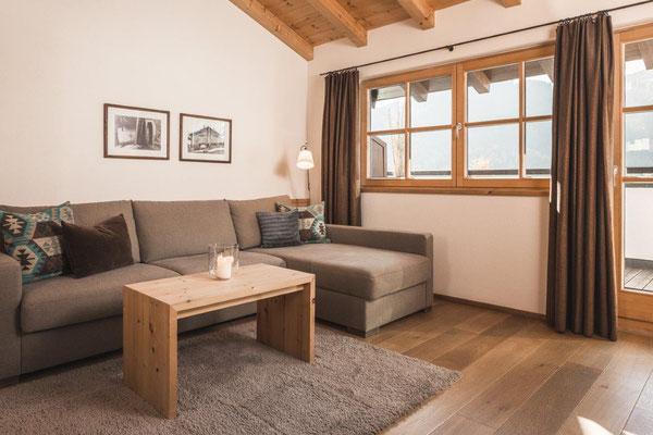 Appartement Laina - Wohnraum