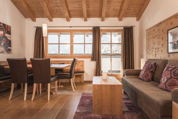 Ferienwohnung Fortüna - Wohnraum