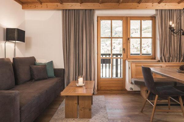 Appartement Flura - Wohnraum