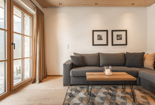 Appartement Grazia - Wohnzimmer