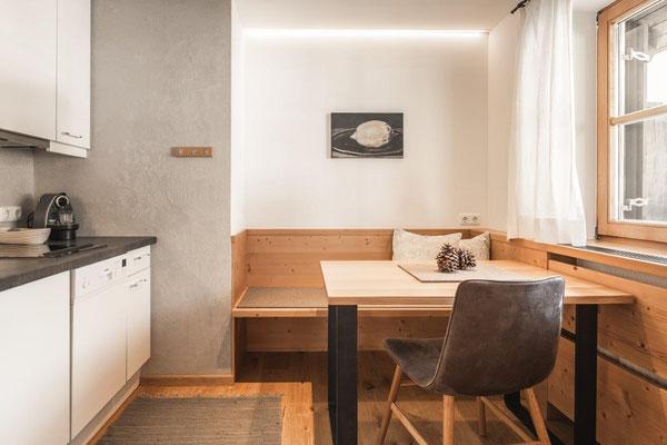 Appartement Glüna - Essbereich